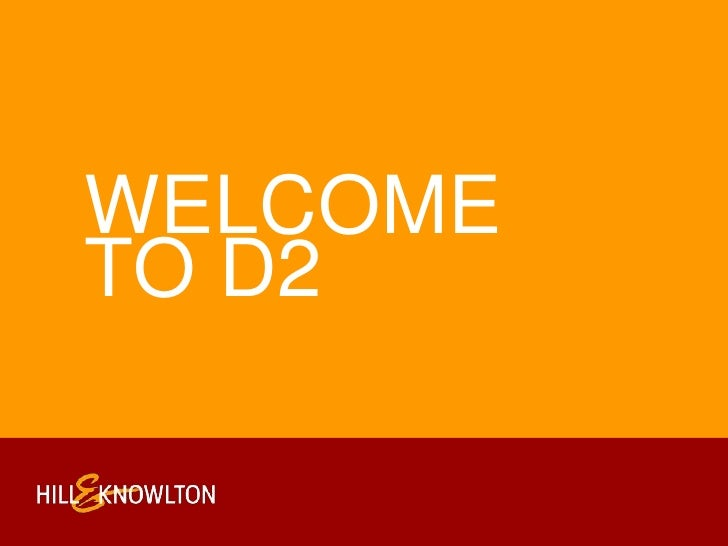 Welcome to d2<br />