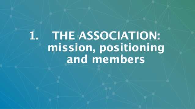 © Italia Startup 2017 | All Rights Reserved 1. THE ASSOCIATION:  mission, positioning  and members