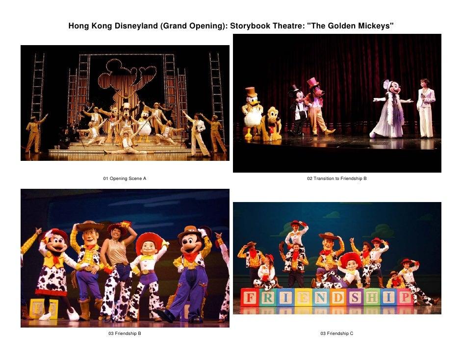 Hong Kong Disneyland (Grand Opening): Storybook Theatre: quot;The Golden Mickeysquot;             01 Opening Scene A      ...