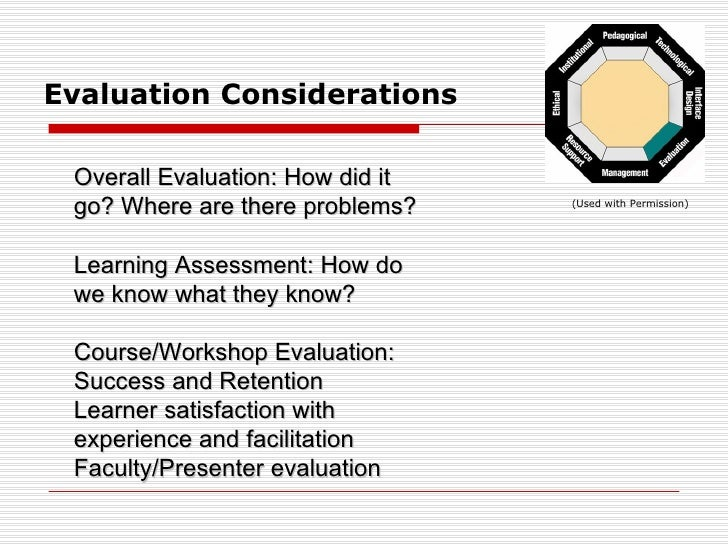 evaluating the breeze as educational tool in e learning Despite recent advances of electronic technologies in e-learning, a consolidated evaluation methodology for e-learning applications is not available the evaluation of educational software must consider its usability and more in general its accessibility, as well as its didactic effectiveness this.