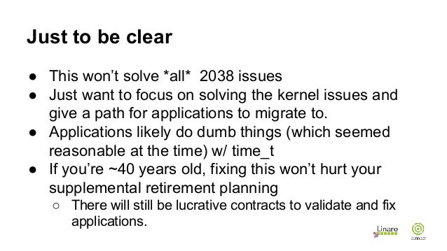 HKG15-206: Solving the year 2038 problem in Linux