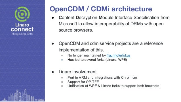 widevine content decryption module chromium linux