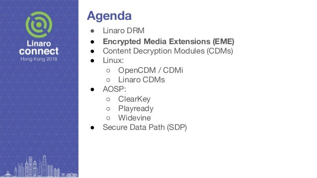 HKG18-203 - Overview of Linaro DRM