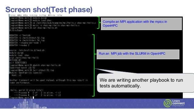 HKG18-419 - OpenHPC on Ansible