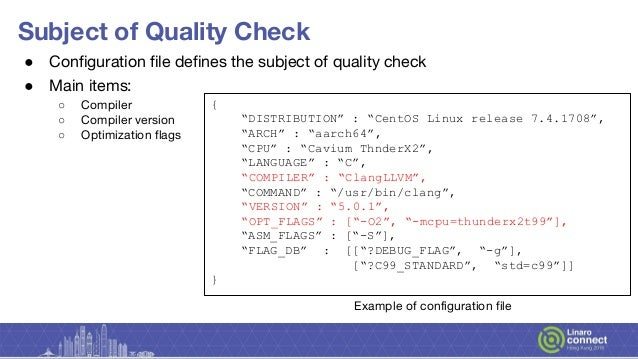 HKG18-506 - HCQC : HPC Compiler Quality Checker