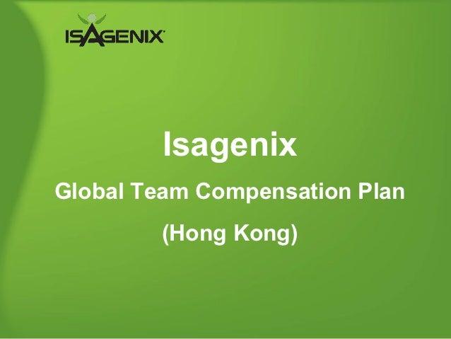 IsagenixGlobal Team Compensation Plan        (Hong Kong)