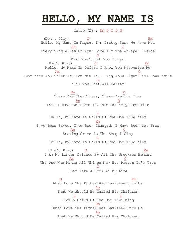 Lyric no other name lyrics hillsong : Aiza