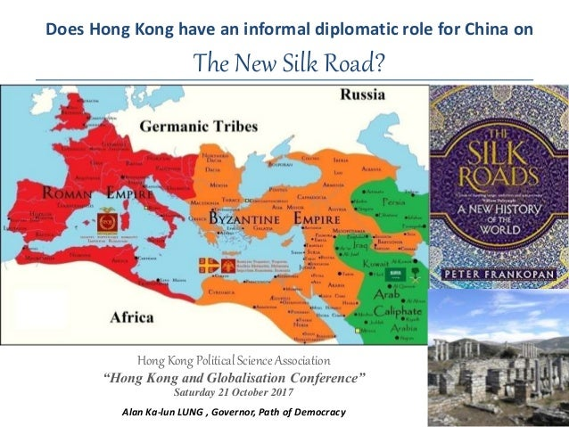 Does Hong Kong have an informal diplomatic role for China on the New