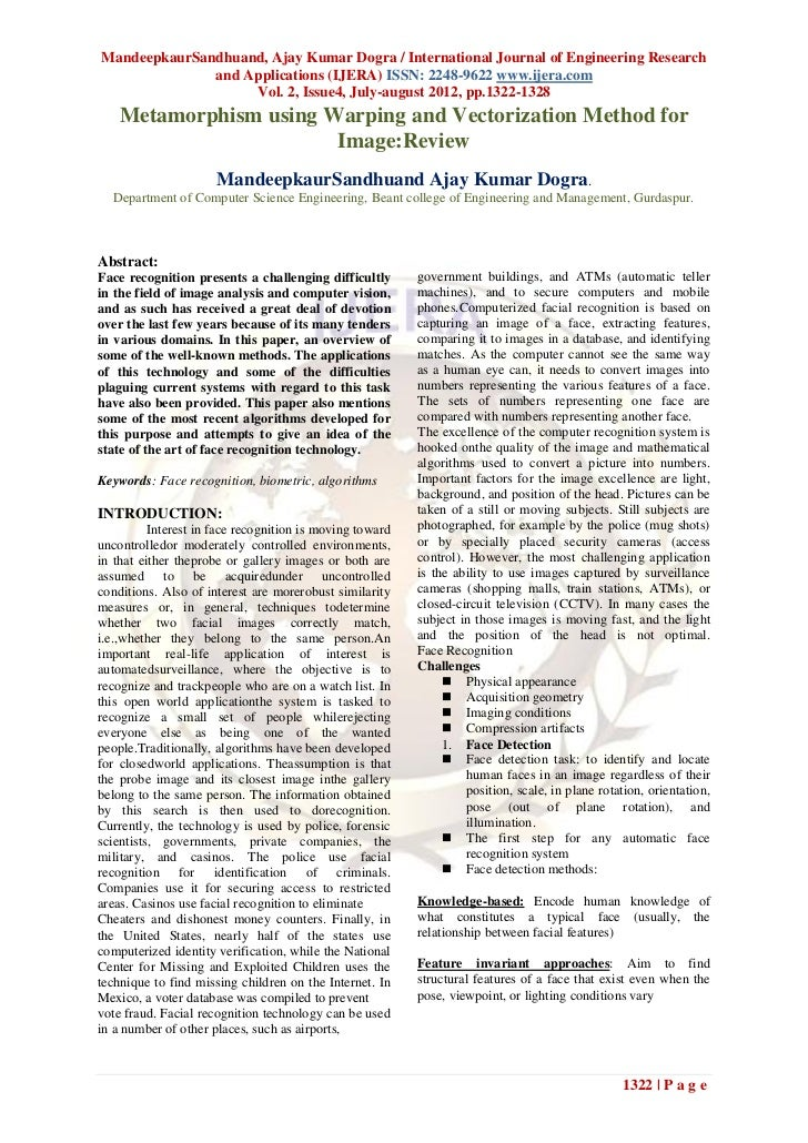 MandeepkaurSandhuand, Ajay Kumar Dogra / International Journal of Engineering Research              and Applications (IJER...