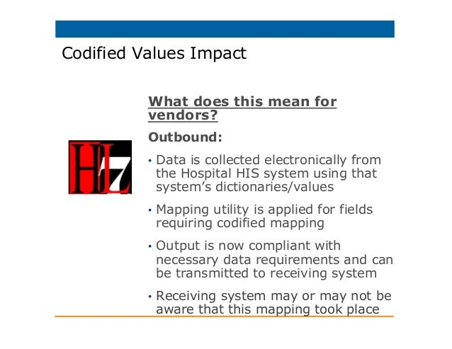 Understanding HL7 version 2 5 1 and Meaningful Use data