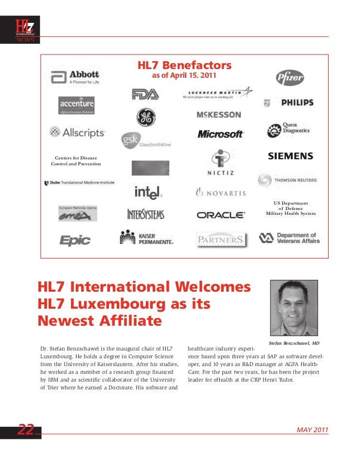 Hl7 news 201105051