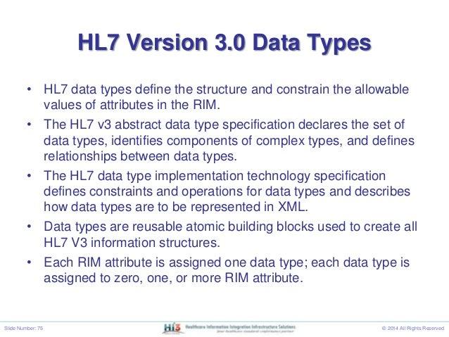 Hl7 v3 message example.
