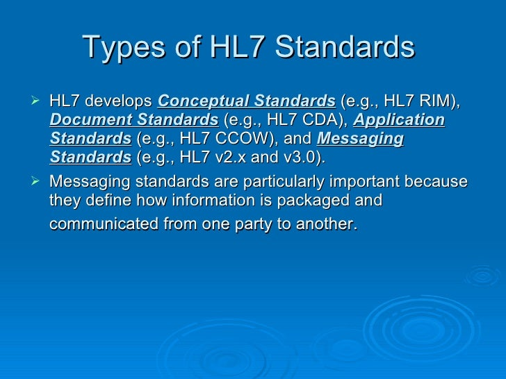 hl7 protocol - DriverLayer Search Engine