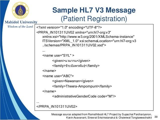 Hl7 standards (september 15, 2016).