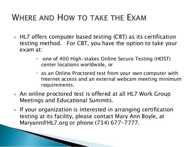 hl7 v2 certification test preparation rh slideshare net HL7 Interface HL7 Standards