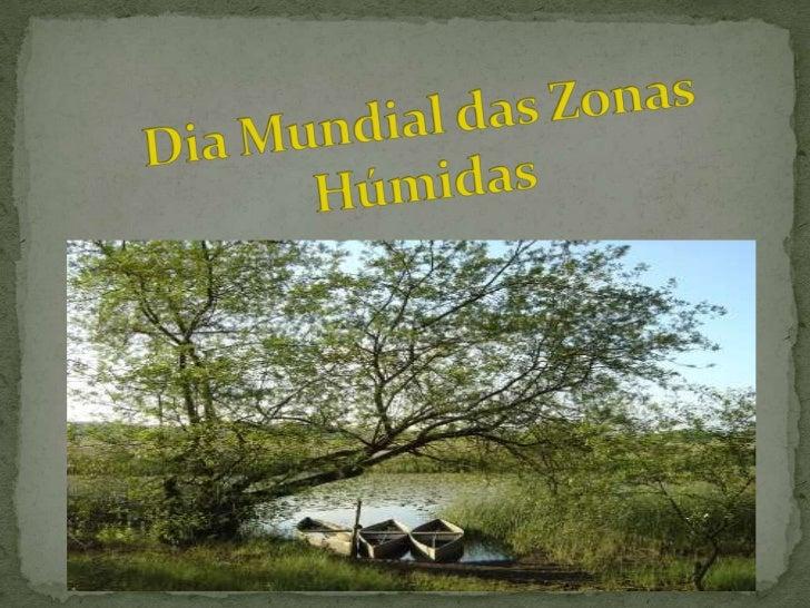 Dia Mundial das Zonas Húmidas<br />