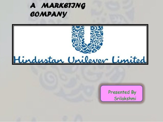 A MARKETINGCOMPANY              Presented By                Srilakshmi