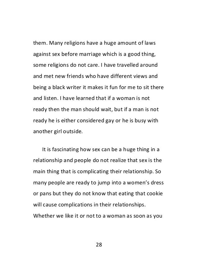 Understanding a woman in a relationship