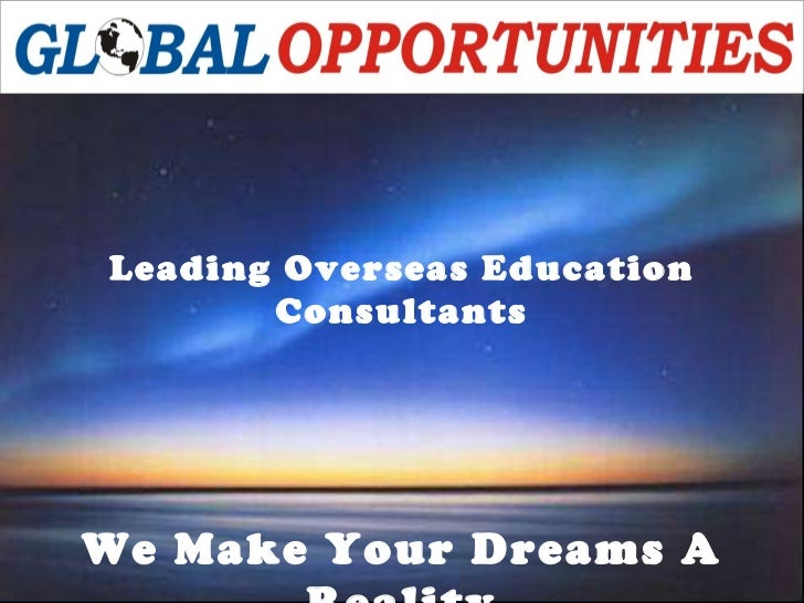Leading Overseas Education Consultants We Make Your Dreams A Reality