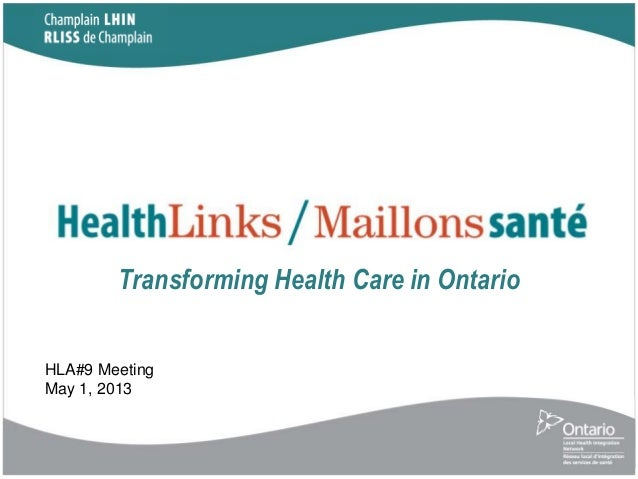 champlain lhin business plan