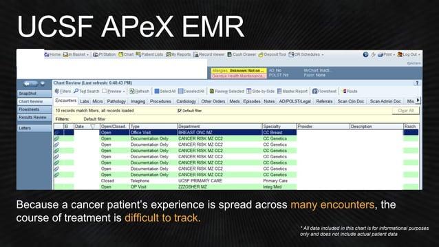 """Genomic data: EMR """"Import"""""""