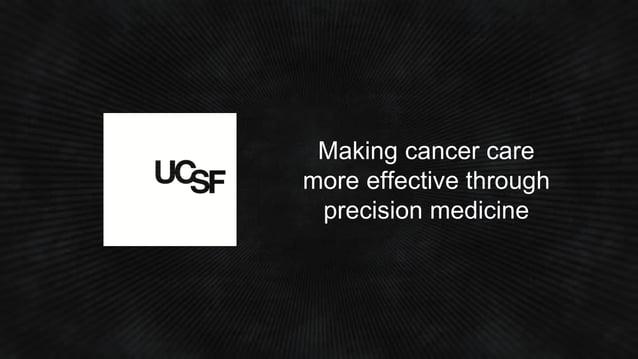 Making cancer care more effective through precision medicine