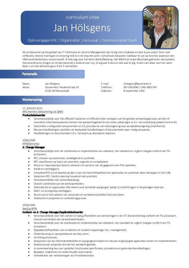 CV Hölsgens jan