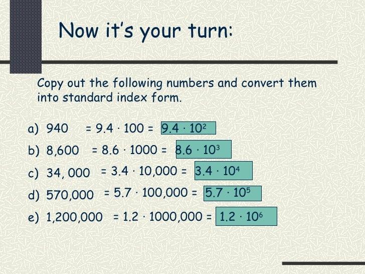 Index Form
