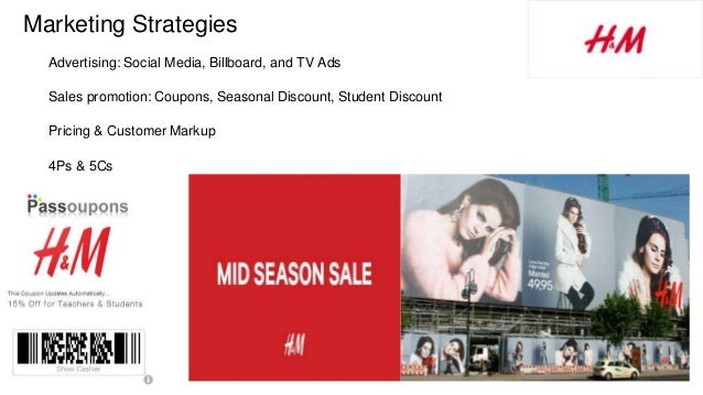 h&m product strategy
