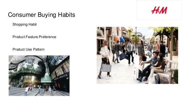Consumer Buying Habits Shopping Habit Product Feature Preference Product Use Pattern