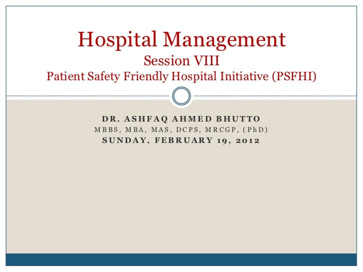 Welcome to the Patient Safety & Quality Website