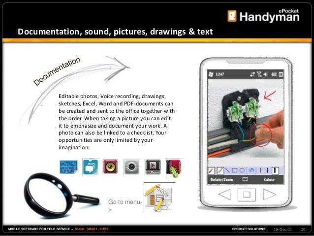 Handyman - field service software