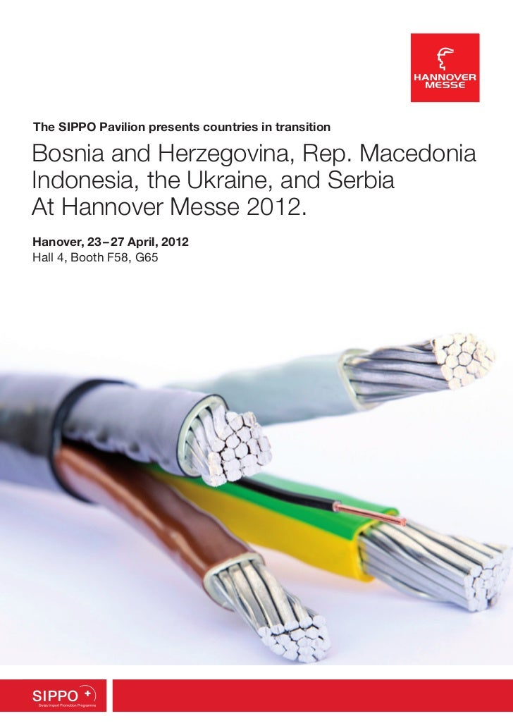 The SIPPO Pavilion presents countries in transitionBosnia and Herzegovina, Rep. MacedoniaIndonesia, the Ukraine, and Serbi...