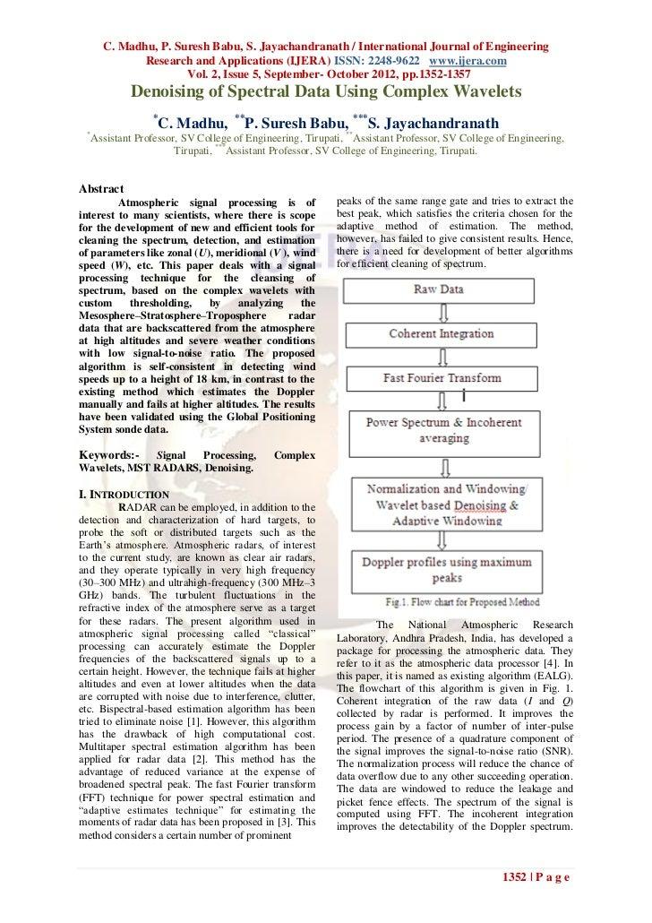 C. Madhu, P. Suresh Babu, S. Jayachandranath / International Journal of Engineering            Research and Applications (...