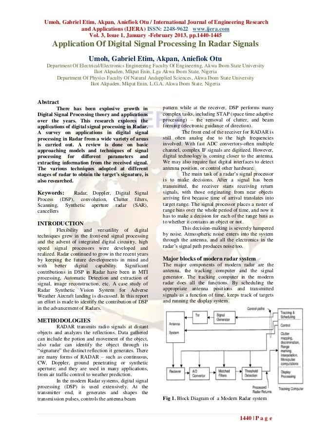 Umoh, Gabriel Etim, Akpan, Aniefiok Otu / International Journal of Engineering Research                and Applications (I...
