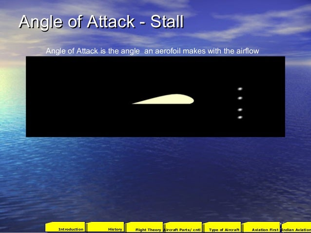 Angle of Attack - StallAngle of Attack - Stall 23 Angle of Attack is the angle an aerofoil makes with the airflow 2001Avia...