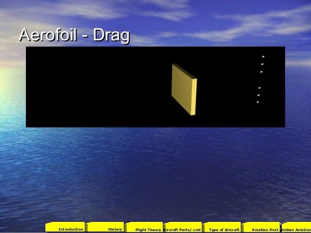 Aerofoil - DragAerofoil - Drag 172001Aviation FirstType of AircraftAircraft Parts/ cntlFlight TheoryHistoryIntroduction In...