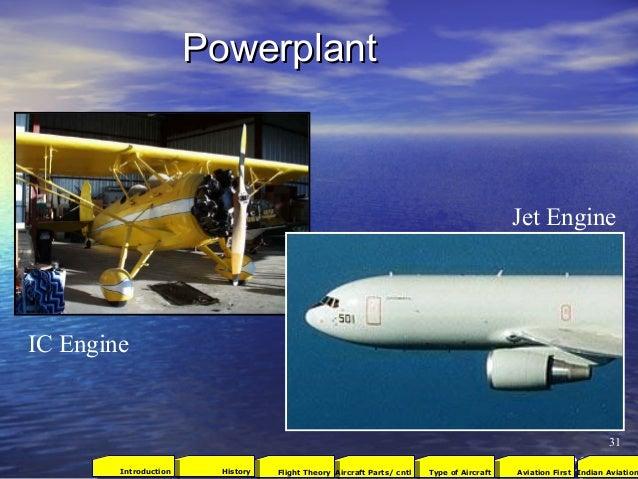 PowerplantPowerplant Jet Engine IC Engine 31 2001Aviation FirstType of AircraftAircraft Parts/ cntlFlight TheoryHistoryInt...