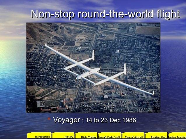 Non-stop round-the-world flightNon-stop round-the-world flight VoyagerVoyager ; 14 to 23 Dec 1986; 14 to 23 Dec 1986 51 * ...