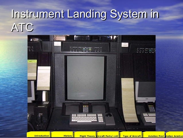 Instrument Landing System inInstrument Landing System in ATCATC 9696 2001Aviation FirstType of AircraftAircraft Parts/ cnt...