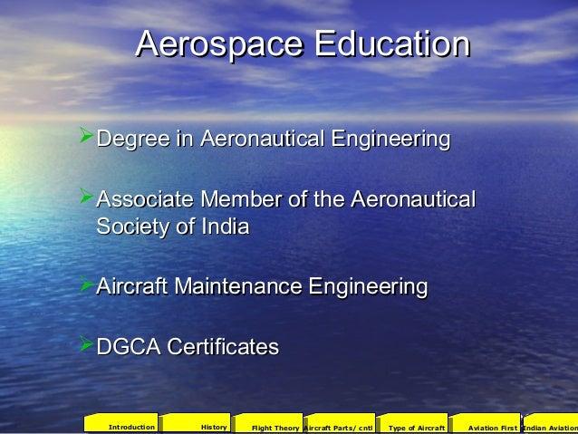 Aerospace EducationAerospace Education Degree in Aeronautical EngineeringDegree in Aeronautical Engineering Associate Me...