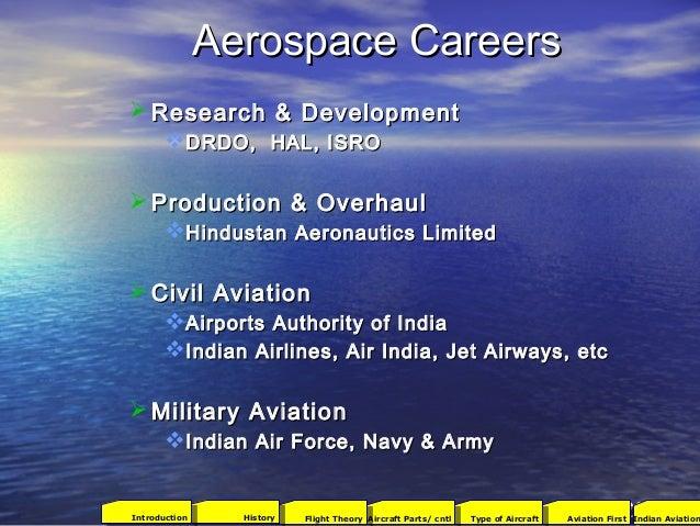 Aerospace CareersAerospace Careers  Research & DevelopmentResearch & Development DRDO, HAL, ISRODRDO, HAL, ISRO  Produc...