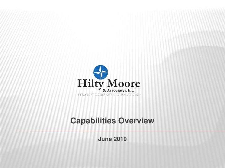 Capabilities Overview<br />June 2010<br />