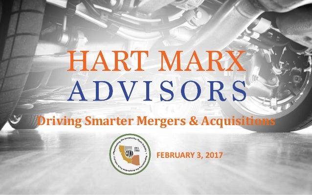 DrivingSmarterMergers&Acquisitions FEBRUARY3,2017