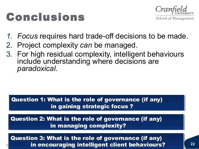 Governance: Focus,complexity and intelligentclient behavioursDr Harvey MaylorEmail: icpm@cranfield.ac.uk (until 31stJuly)h...
