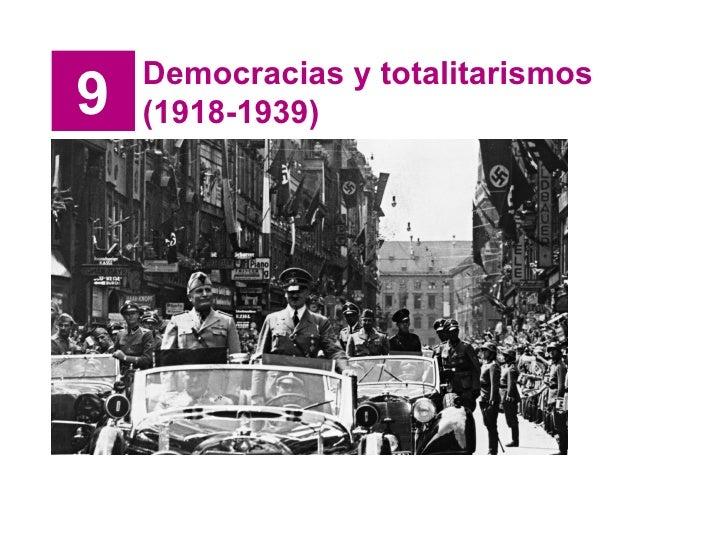9 Democracias y totalitarismos (1918-1939)