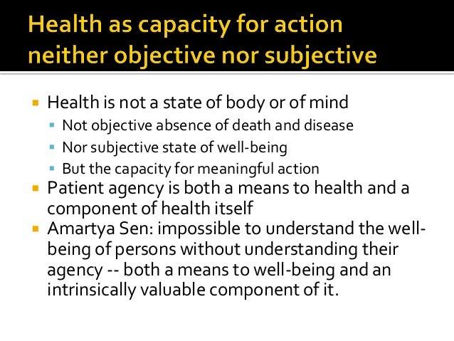  Patients' capacity for action (beyond decisional autonomy) has not been incorporated into clinical practice or theory  ...