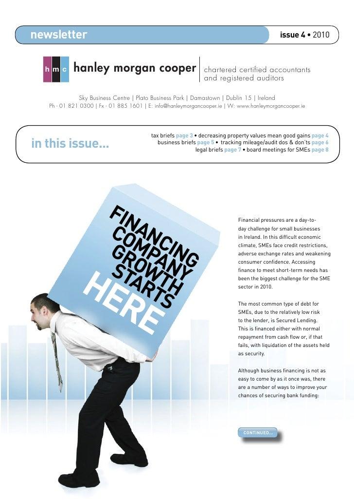 newsletter                                                                                     issue 4 • 2010      hmc    ...
