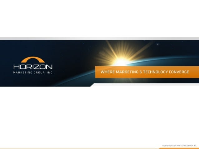 Who We Are • Full Service Interactive Marketing Agency – Integrating Traditional Marketing with Emerging Technologies • Fo...