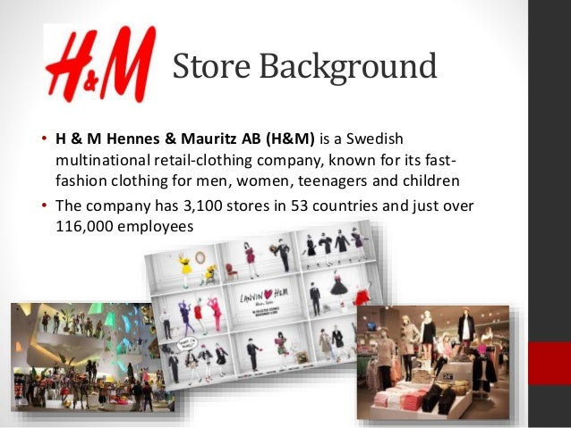f0f73bac233 ... Project Dushyanthi Pieris  2. • H   M Hennes   Mauritz AB (H M) is a  Swedish multinational retail-clothing company ...
